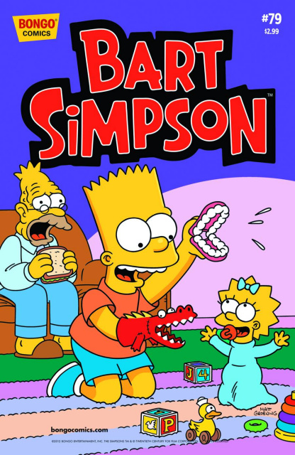 Bart Simpson Comics #79