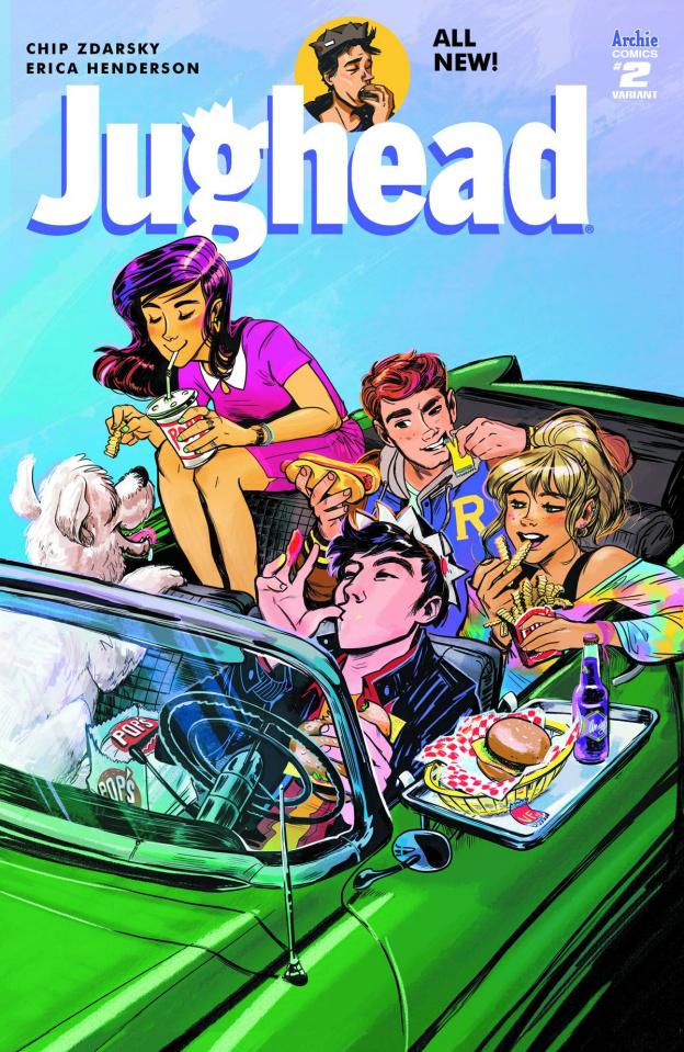 Jughead #2 (Fish Cover B)