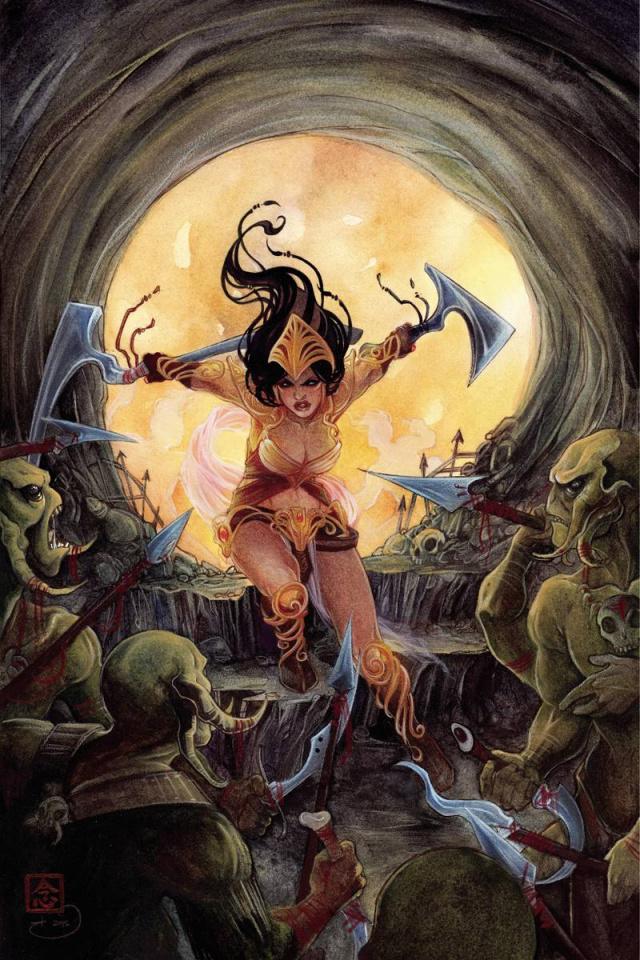 Dejah Thoris #3 (Rare Nen Virgin Art Cover)