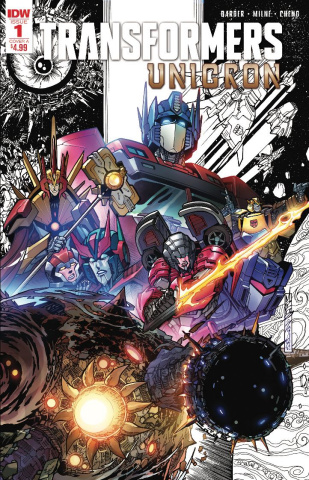 The Transformers: Unicron #1 (2nd Printing)