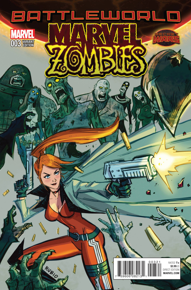 Marvel Zombies #3 (Variant Cover)