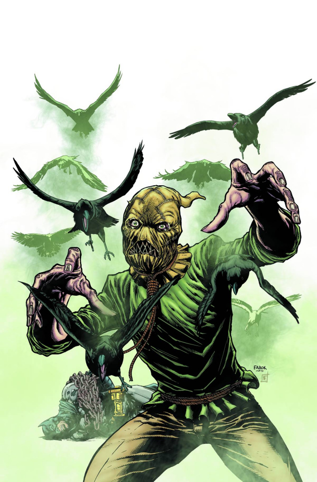 Detective Comics #23.3: The Scarecrow