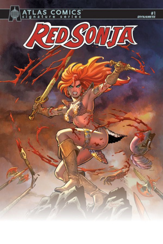 Red Sonja #1 (Signed Atlas Edition)