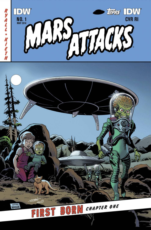 Mars Attacks First Born #1 (Subscription Cover)