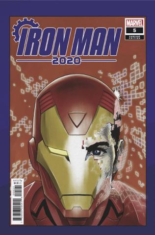Iron Man 2020 #5 (Superlog Heads Cover)