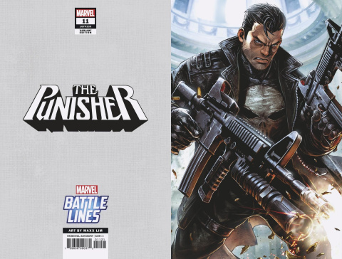 The Punisher #11 (Maxx Lim Marvel Battle Lines Cover)