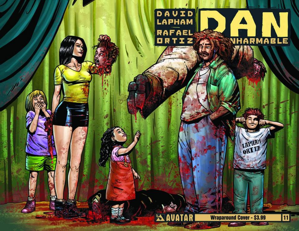 Dan the Unharmable #11 (Wrap Cover)
