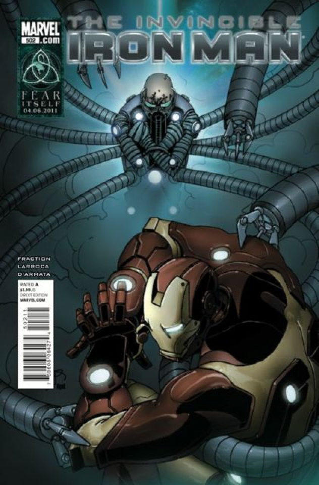 Invincible Iron Man #502