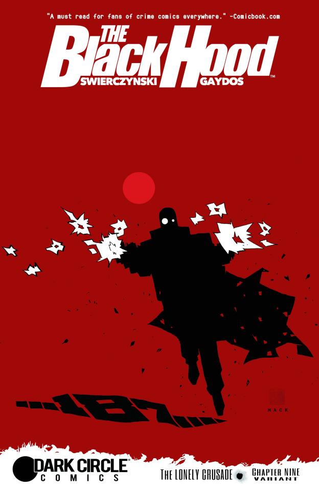 The Black Hood #9 (Mack Cover)