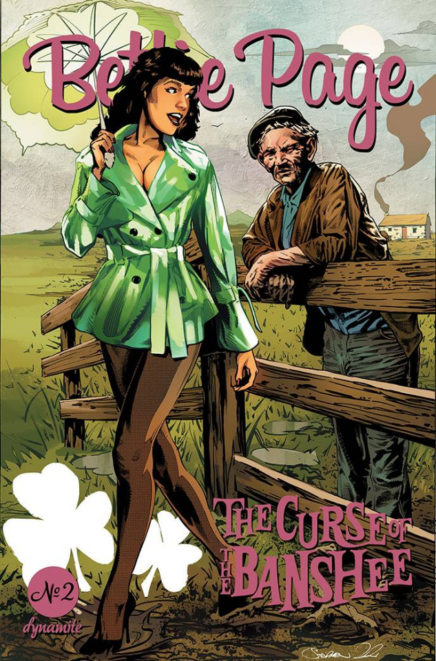 Bettie Page and The Curse of the Banshee #2 (Mooney Cover)