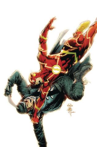 Justice League vs. Suicide Squad #4 (Finch Cover)