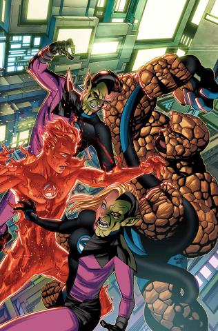 Fantastic Four #7 (McKone Skrulls Cover)