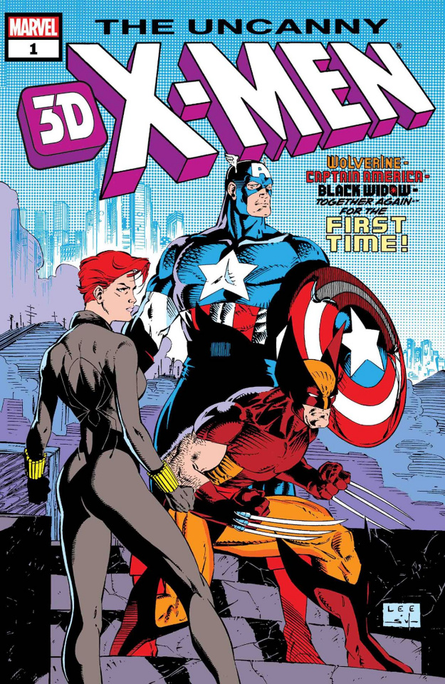 Uncanny X-Men #268 (3D)