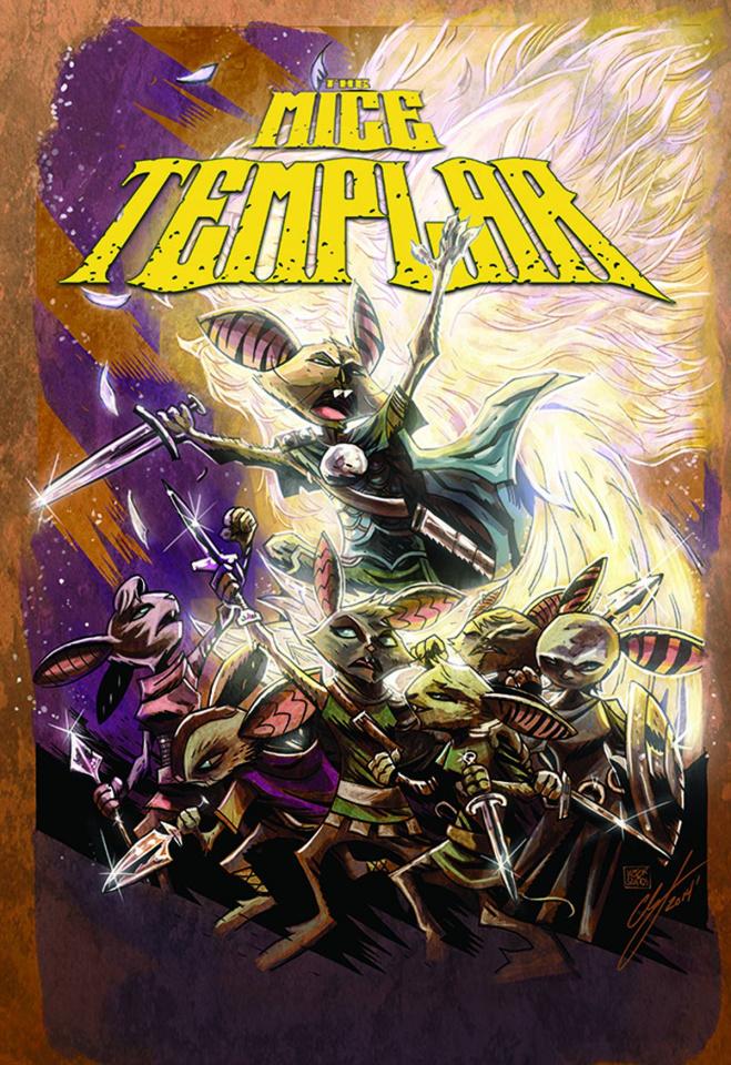 Mice Templar: The Legend #14 (Santos Cover)