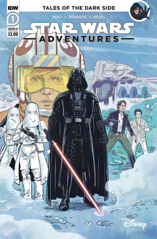 Star Wars Adventures #1 (Brokenshire Cover)