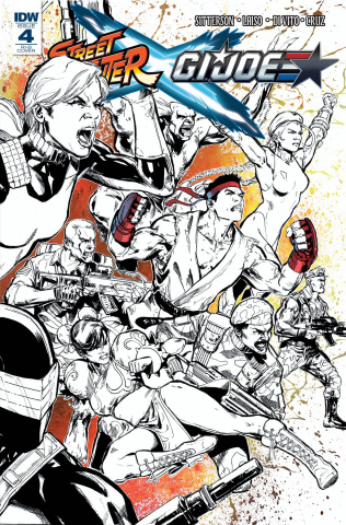 Street Fighter X G.I. Joe #4 (25 Copy Cover)