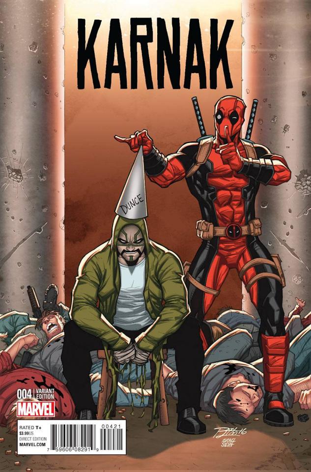 Karnak #4 (Lim Deadpool Cover)