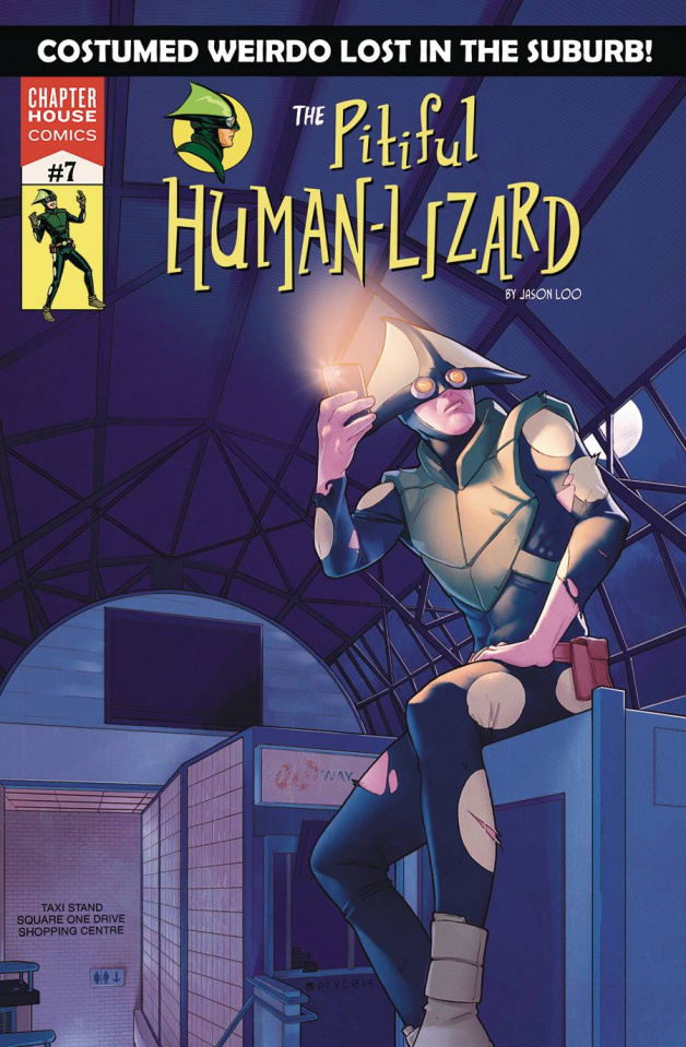 The Pitiful Human-Lizard #7 (Campbell Cover)