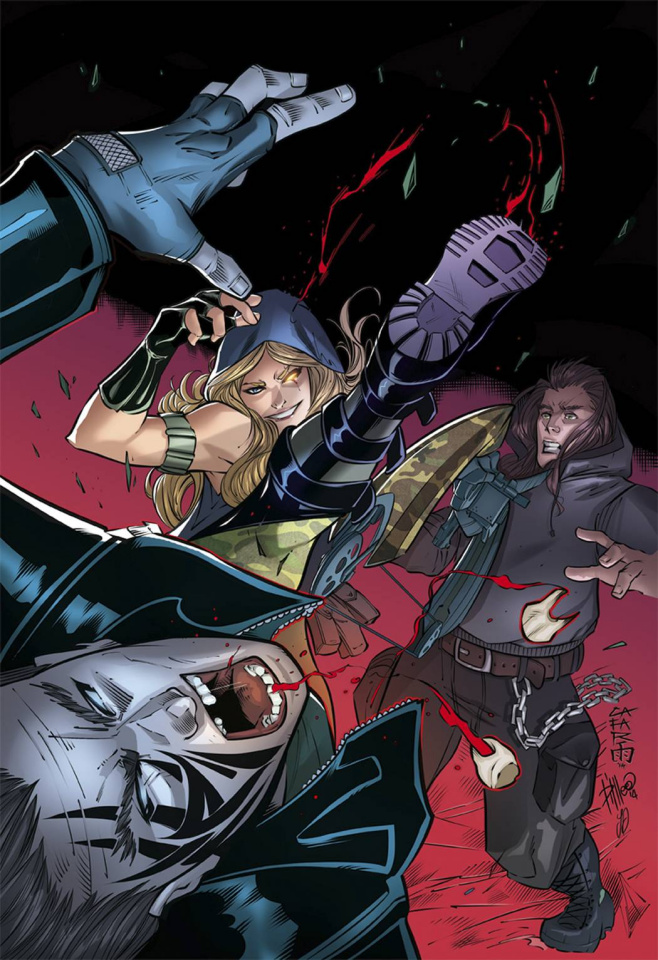 Grimm Fairy Tales: Robyn Hood #1 (Cafaro Cover)