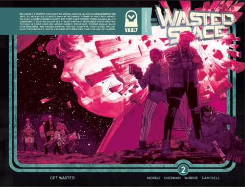 Wasted Space #2 (2nd Printing)