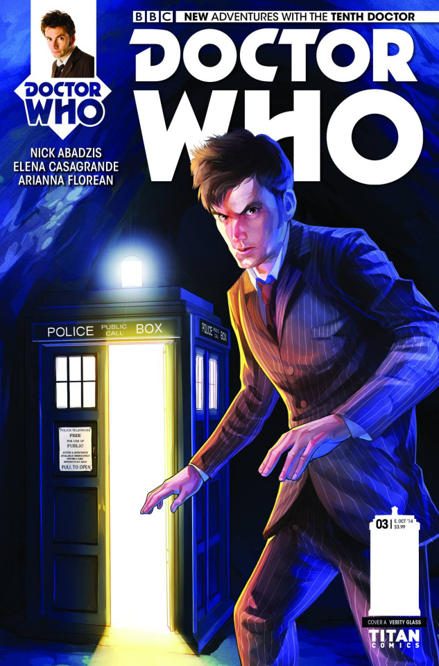 Doctor Who: New Adventures with the Tenth Doctor #3