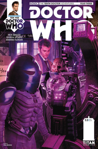 Doctor Who: New Adventures with the Tenth Doctor, Year Three #3 (Photo Cover)