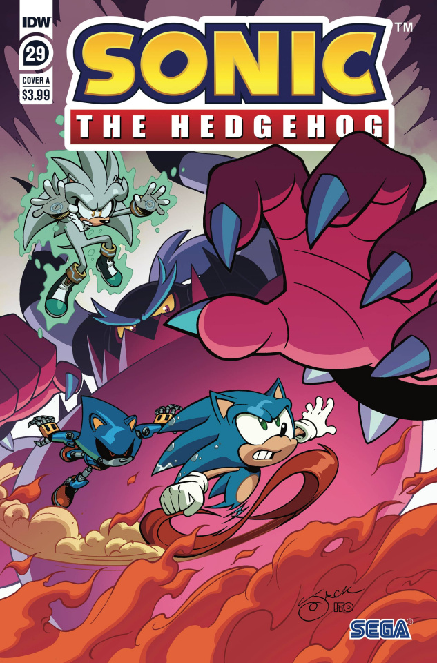 Sonic the Hedgehog #29 (Lawrence Cover)