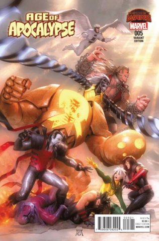 Age of Apocalypse #5 (Garner Cover)