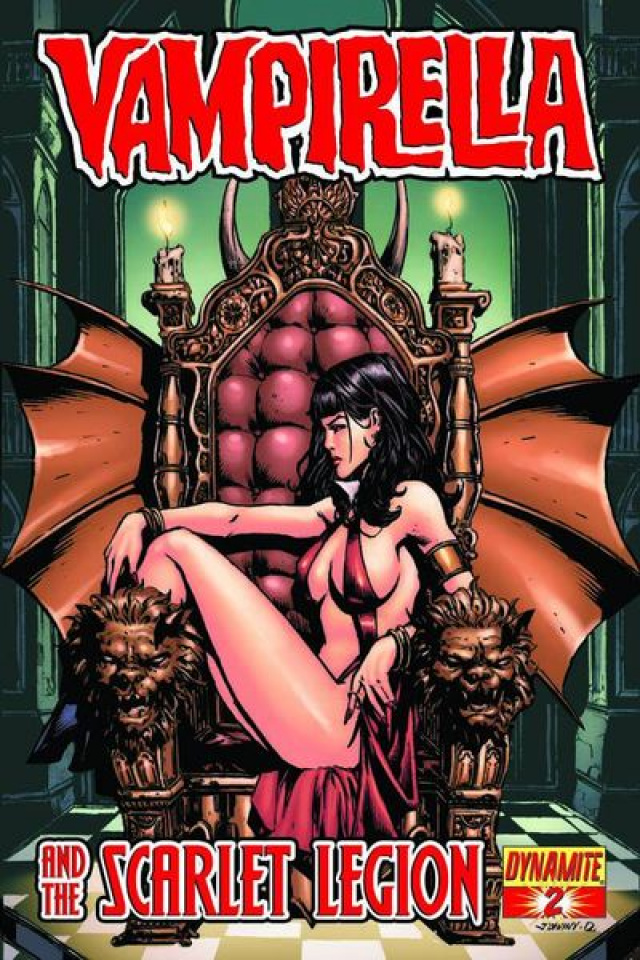 Vampirella and the Scarlet Legion #2