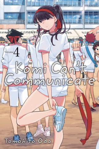 Komi Can't Communicate Vol. 4