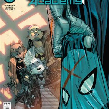 Teen Titans Academy #5 (Rafa Sandoval Cover)
