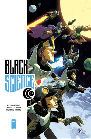 Black Science #39 (Scalera Cover)
