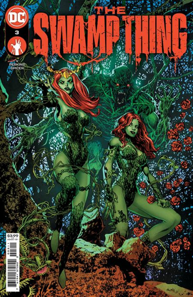 Swamp Thing #3 (Mike Perkins Cover)