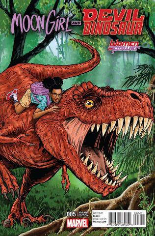 Moon Girl and Devil Dinosaur #5 (Guierra Cover)