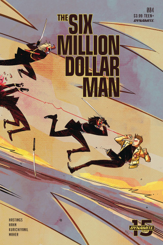 The Six Million Dollar Man #4 (Piriz Cover)