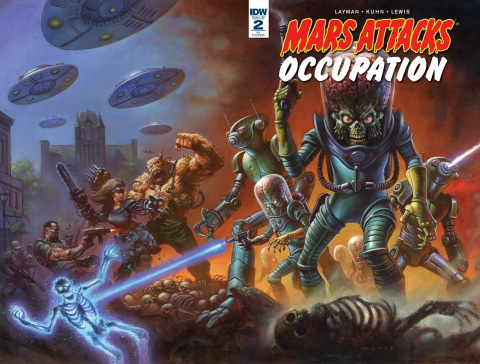 Mars Attacks: Occupation #2 (10 Copy Cover)