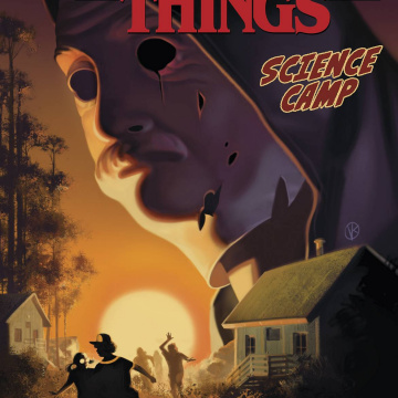 Stranger Things: Science Camp #1 (Kalvachev Cover)