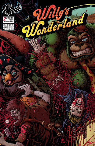 Willy's Wonderland Prequel #2 (Hasson & Haeser Cover)