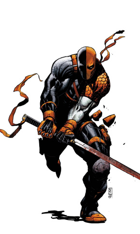 Deathstroke: Rebirth #1 (Variant Cover)
