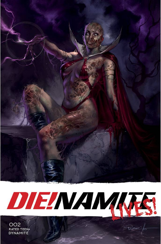 DIE!namite Lives! #2 (Parrillo Cover)