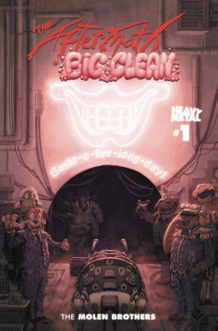 The Aftermath: The Big Clean #1 (Cover B)
