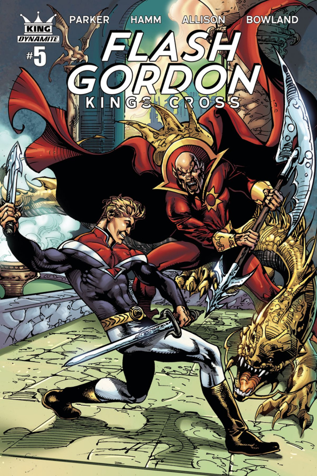 Flash Gordon: Kings Cross #5 (Subscription Cover)