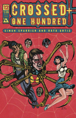 Crossed + One Hundred #12 (Horrific Homage Cover)