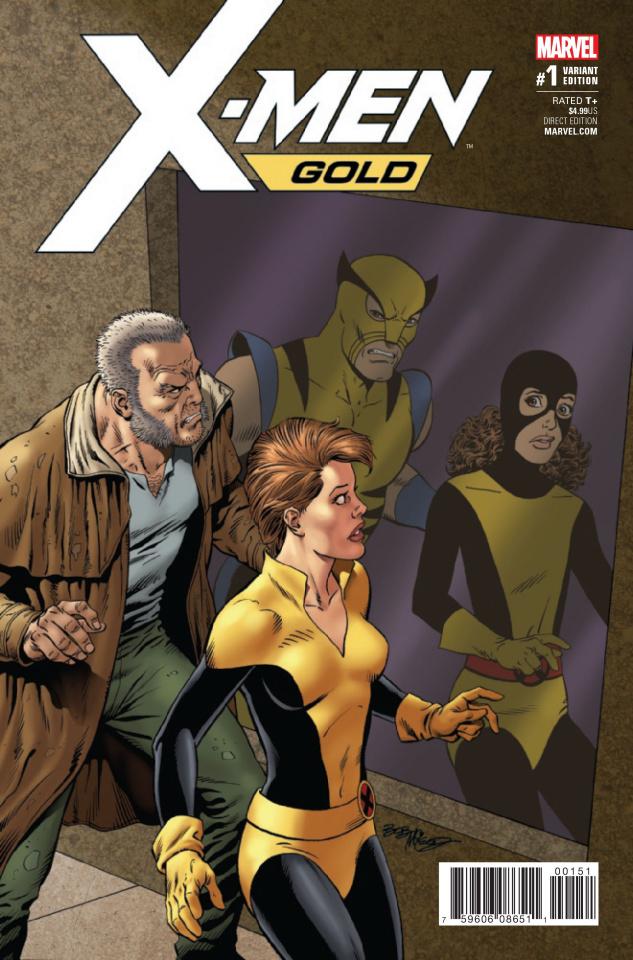 X-Men: Gold #1 (McLeod Cover)