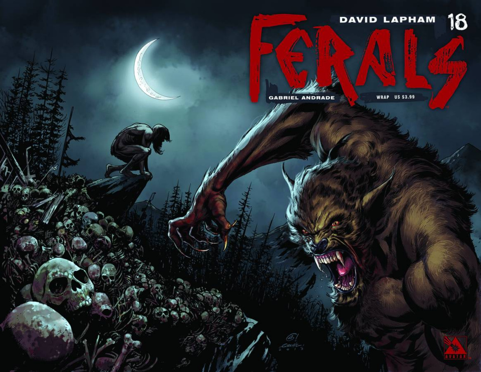 Ferals #18 (Wrap Cover)