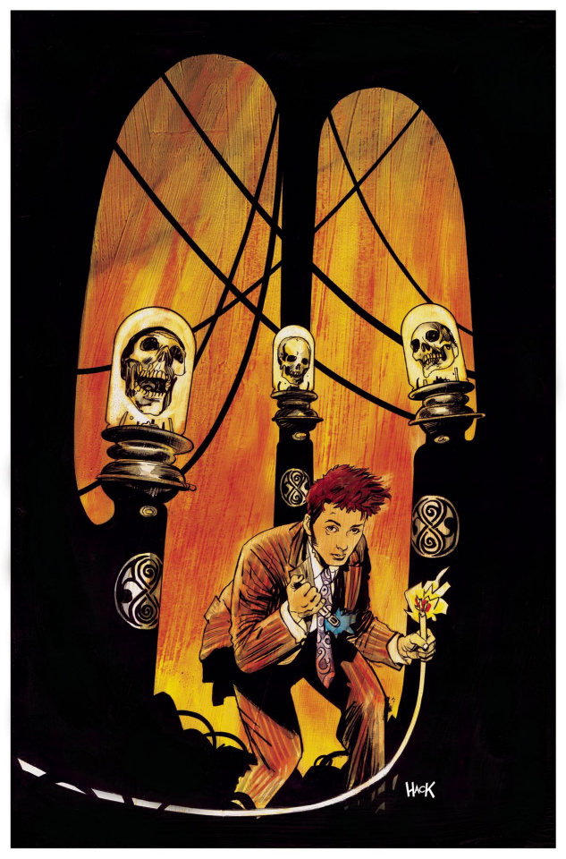 Doctor Who: New Adventures with the Tenth Doctor, Year Three #7 (Hack Cover)