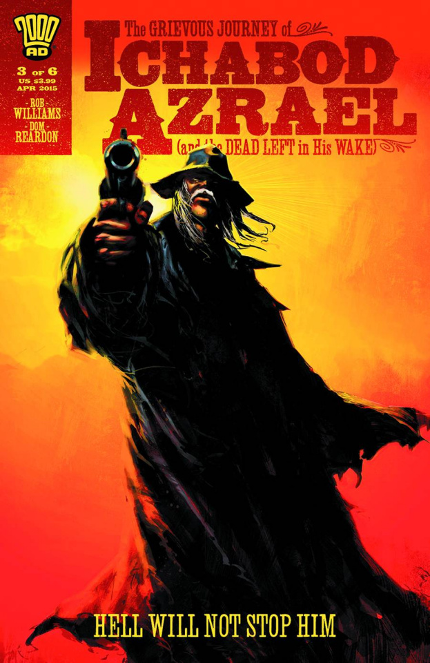The Grievous Journey of Ichabod Azrael #3