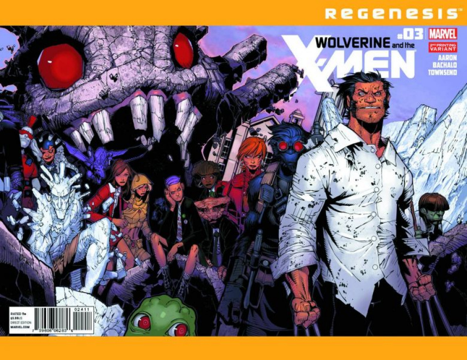 Wolverine and the X-Men #3 (2nd Printing)