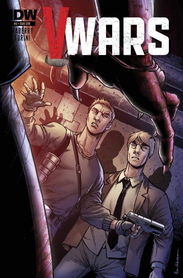 V-Wars #6 (Subscription Cover)