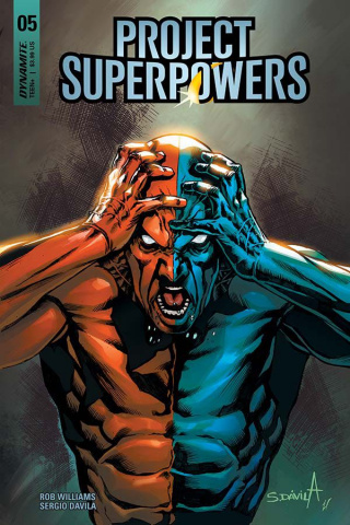 Project Superpowers #5 (Davila Cover)